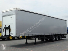 Schwarzmüller CURTAINSIDER / LIFTED AXLE / COILMULD /LIKE NEW semi-trailer used tarp