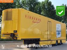 Floor mono temperature refrigerated semi-trailer FLSDO1220K Lenkachse LBW Mulder-Aufbau Carrier Vector 1800