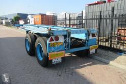Полуремарке контейнеровоз Pacton Container Chassis / 20FT / Steel suspension / ROR + Drum