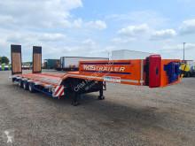 Lowboy / 45.5 Ton loading capacity semi-trailer used heavy equipment transport