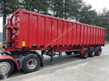 LAG tipper semi-trailer 45m³ ALU TIPPER / STEEL CHASSIS - ALU KIPPER / CHASSIS ACIER - BPW - DRUM BRAKES / FREINS TAMBOURS - BELGIAN TRAILER-