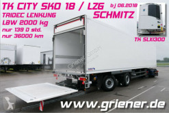 Semi remorque frigo Schmitz Cargobull SKO SKO 18/ LZG / TRIDEC LENKUNG / LBW 2000 kg /CITY