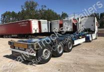 Semi remorque Schmitz Cargobull porte containers occasion