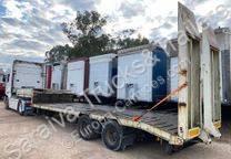 Samro semi-trailer used heavy equipment transport
