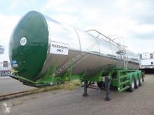 Semi remorque citerne alimentaire Fruehauf Tank,Cistern,Inox,Food,30.000 liter