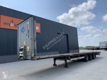 Trailer Krone Mega, BPW+drum, Huckepack, NL-trailer, APK: 10/2021, 5x available tweedehands platte bak