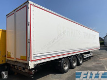 Van Hool furgon félpótkocsi plywood gesloten, gegalv chassis, hardhout vloer - ON17NG
