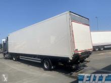 Heiwo furgon félpótkocsi HZO 21 1as gestuurde gesloten city trailer met achterklep