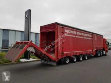 Semi reboque porta máquinas Fliegl SVS 560 Jumbo Schiebeverdeck hydraulische Rampe