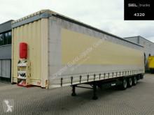 Félpótkocsi Krone SD / EDSCHA használt ponyvával felszerelt plató