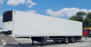 Semirremolque Schmitz Cargobull SKO24 Tiefkühlkoffer Carrier Strom + Diesel LBW Lenkachse frigorífico usado