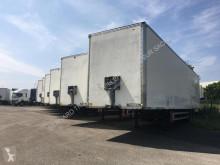 Fruehauf box semi-trailer FOURGON 2 ESSIEUX