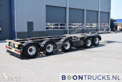 Semiremorca Broshuis 2 CONNECT-5AKCC | 2x20-40-45ft HC * 3x STEERING * 4x LIFT transport containere second-hand