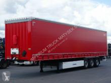 Félpótkocsi Krone CURTAINSIDER /STANDARD/ PALLET BOX/PERFECT használt ponyvával felszerelt plató