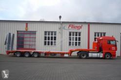 Semitrailer maskinbärare Fliegl Porte engin avec table élévatrice
