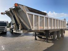 Semitrailer Benalu Semi Reboque vagn för stengrundsläggning begagnad