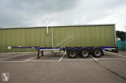 Groenewegen container semi-trailer CONTAINER TRAILER STEEL SUSPENSION