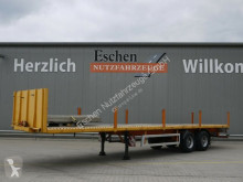 Flatbed semi-trailer Piacenza Rimorchi 2 Achs Pritsche*Bordwände*BPW