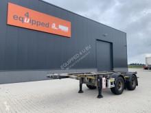 Návěs Van Hool 20FT ADR-Chassis, galvanised, empty weight: 3.020kg, BPW+drum, MOT:30/03/2022, 2x available nosič kontejnerů použitý