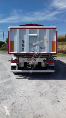 Benalu Sidérale II semi-trailer used construction dump