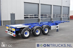Trailer containersysteem Van Hool 3B2015 | 20-30ft TANK CHASSIS * APK 07-2022