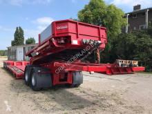Semi reboque Nooteboom JPD-54 Lowboy / 4+2 axles / 100 ton payload / Dolly / Hydraulic suspension / SAF Drum / 4x steering axle / NL Trailer porta máquinas usado