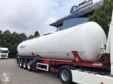 Návěs Feldbinder KIP 60.3, 4x vorh. cisterna práškový použitý