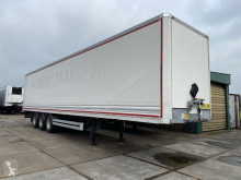 Van Hool box semi-trailer plywood gesloten, gegalv chassis, hardhout vloer - ON21NG