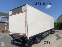 Semirimorchio furgone Heiwo HZO 21 1as gestuurde gesloten city trailer met achterklep ON51HX