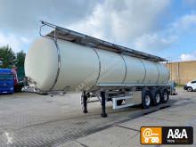 Полуремарке цистерна Schrader FOODSTUFFS WEBASTO 3 COMPARTMENTS 33.000 L
