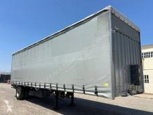 Félpótkocsi Leciñena tauliner con puerta elevable használt függönyponyvaroló