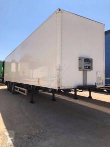 Fruehauf box semi-trailer CL 155 EW