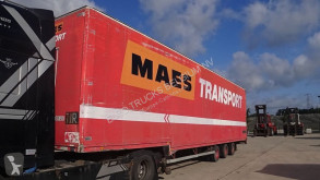Talson D27 (DRUM BRAKES & DOUBLE TIRES / FREINS TAMBOURS & DOUBLE ROUES / SAF AXLES) semi-trailer used box