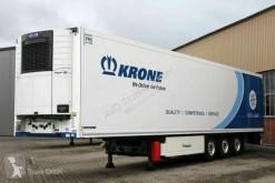 Krone SDR 27 Doppelstock Trennwand Telem Door Protect semi-trailer used refrigerated