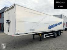 Ackermann beverage delivery flatbed semi-trailer System Trailer / LENKACHSE / Ladebordwand