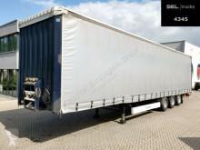 Krone SD / Mega / EDSCHA / Hubdach semi-trailer used tarp