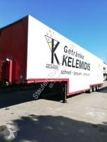 Schmitz Cargobull beverage delivery flatbed semi-trailer GROSS Elektr./Hydr. Schwenkwand Getränke HU NEU