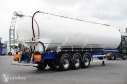 LAG tanker semi-trailer SILOS / 60 M3 / OŚ PODNOSZONA / 6280 KG / JAK NOWY