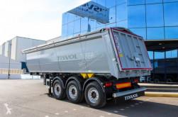 Tisvol tipper semi-trailer benne alu Terra TP