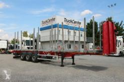 Náves súprava na odvoz dreva Mega MND, TWO LIFT AXLES,SLIDING STANDS,TOP CONDITION