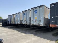 Van Hool 3B2011 mega schuifzeil 100 cub semi-trailer used tautliner