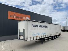 Groenewegen DRO-14-27, BPW+drumbrakes, hardwooden floor, timberstakes, NL-trailer, APK: 12/2021 semi-trailer used tautliner