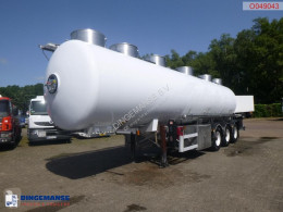 Magyar food tanker semi-trailer Food tank inox 28.5 m3 / 4 comp + pump