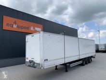 Semirremolque furgón Van Hool damaged rood, full chassis, galvanized, BPW+drum, NL-trailer, APK: 12/2021