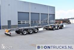 Návěs nosič kontejnerů D-TEC CTD-41-03D + FLEXITRAILER | LHV COMBI * 3x STEERING * 2x LIFTING
