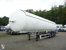 Semi remorque citerne à gaz Robine Gas tank steel 51.5 m3