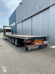 Semitrailer Lecitrailer full arrimage plateau/porte container DISPO SUR PARC platta ny