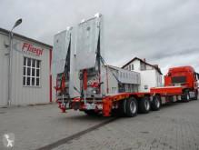Fliegl heavy equipment transport semi-trailer Porte engin avec table élévatrice