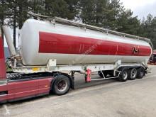 FILLIAT - SILO - ALU SILO / ALU CHASSIS - 5 COMPARTIMENTS - AIR SUSPENSION - DRUM BRAKES semi-trailer used tanker