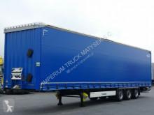 Semitrailer Krone CURTAINSIDER/MEGA/LOW DECK/LIFTED ROOF&AXLE/BDE/ flexibla skjutbara sidoväggar begagnad